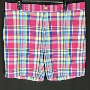 Polo Ralph Lauren Mens Plaid Shorts Size 36